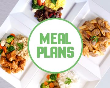 Regular meal plans