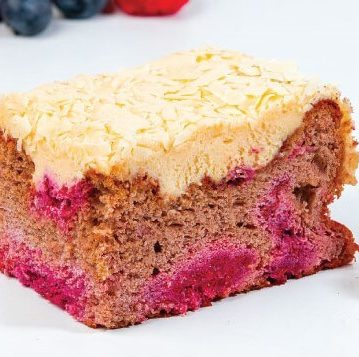 Raspberry Cinnamon Slice