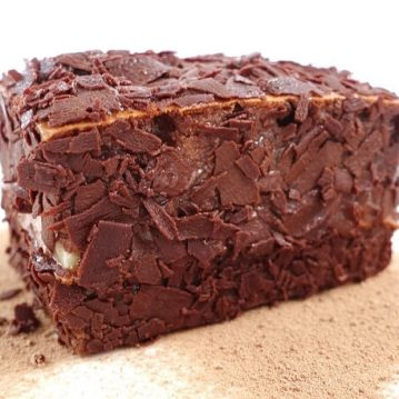 Protein Double Chocolate Lamington