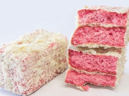 Protein Red Velvet Lamington