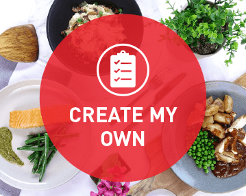 Create my own menu - Bulk Me Up