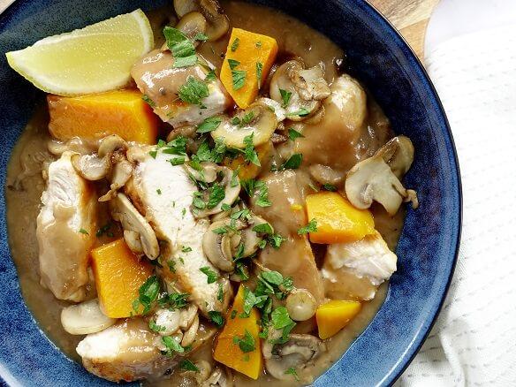 chicken mushrom 2