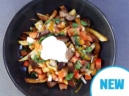 Carne Asada with loaded fries