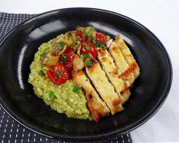 pesto risotto 1