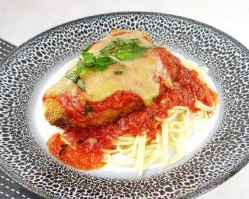 Chicken parmigiana pasta